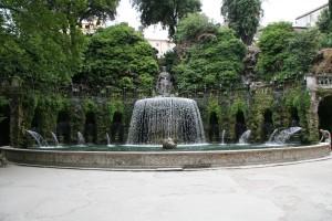 噴水庭園2